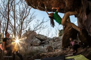 Bulder en Becerril de la Sierra